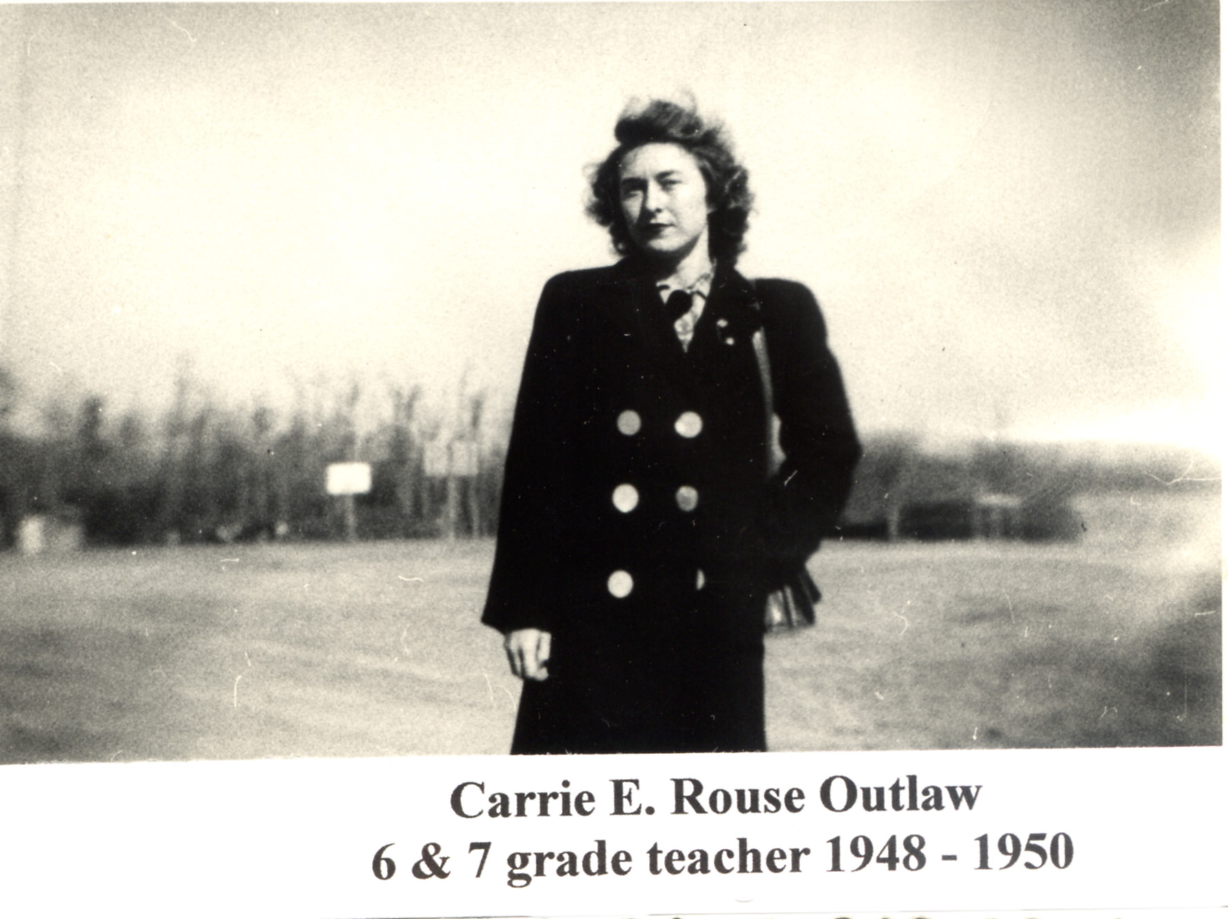 Carrie E. R. Outlaw